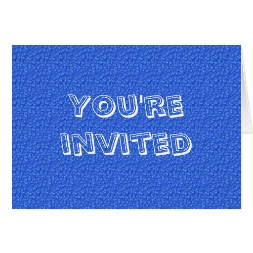 Le invitan tarjeta de felicitación