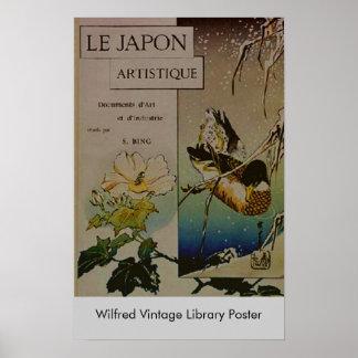 Le Japon Artistique Póster