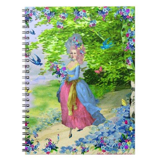 Le Jardin Marie Antoinette Notebook