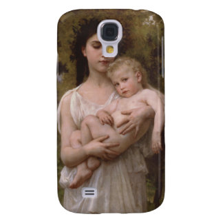 Le Jeune Frere The Little Brother Bouguereau Galaxy S4 Cover