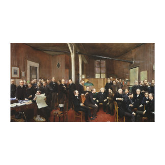 Le Journal des Debats, 1889 Canvas Print