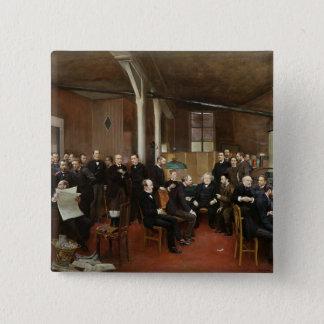 Le Journal des Debats, 1889 Pinback Button