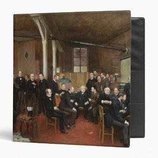 Le Journal des Debats, 1889 Vinyl Binder