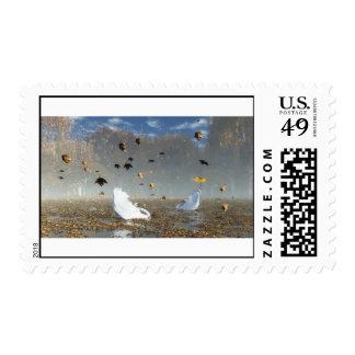 Le lac des cygnes(Full HD) Stamp