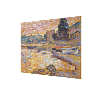 Le Lavandou, c.1908-09 (oil on canvas) Canvas Print