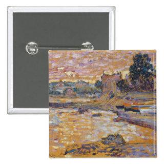 Le Lavandou, c.1908-09 (oil on canvas) Pinback Button