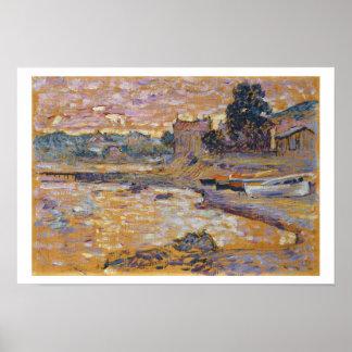 Le Lavandou, c.1908-09 (oil on canvas) Poster
