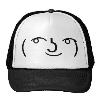 Le Lenny Face Mesh Hat