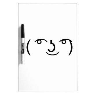 Le Lenny Face Tableros Blancos