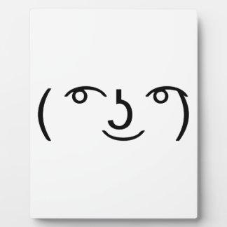 Le Lenny Face Photo Plaque