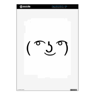 how to make lenny face on ipad