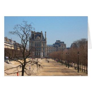 Le Louvre 2 Card