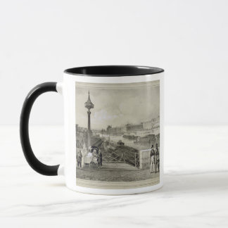 Le Louvre, engraved by Auguste Bry (engraving) Mug