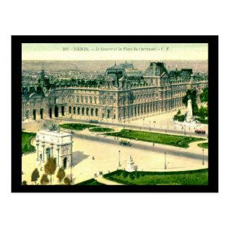 Le Louvre Paris France Vintage Postcards