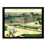 Le Louvre, Paris, France Vintage Postcards
