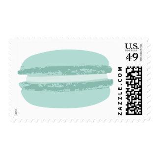 le macaron, bleu postage