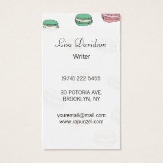 Le Macaron Business Card
