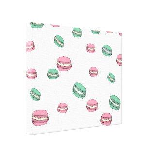 Le Macaron Canvas Prints