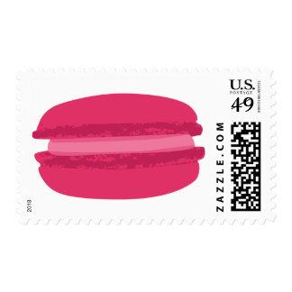 le macaron, fraises stamps