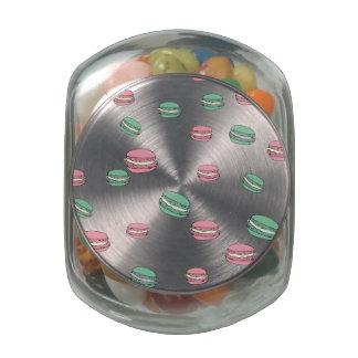 Le Macaron Glass Jars