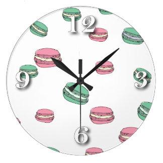 Le Macaron Large Clock