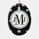 Le Macaron polkadot Christmas Tree Ornament