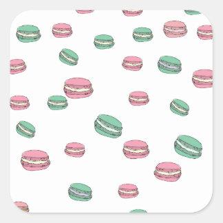 Le Macaron Square Sticker