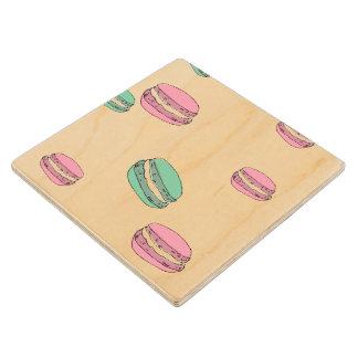 Le Macaron Wooden Coaster
