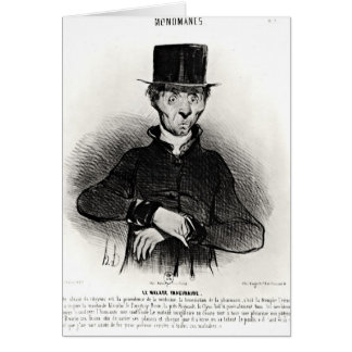 Le Malade Imaginaire, from the series Card