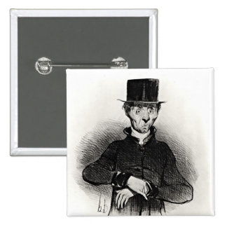 Le Malade Imaginaire, from the series Pinback Button