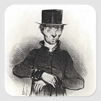 Le Malade Imaginaire, from the series Square Sticker