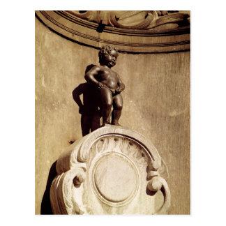Le Mannequin Pis, 1619 Postcard