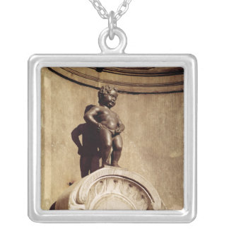 Le Mannequin Pis, 1619 Silver Plated Necklace