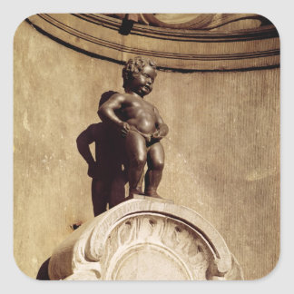 Le Mannequin Pis, 1619 Square Sticker