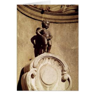 Le Mannequin Pis, 1619 Felicitación