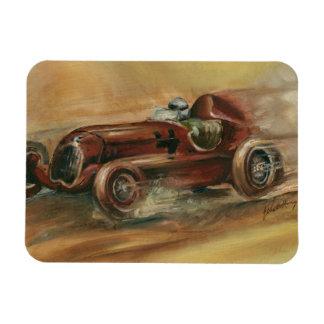 Le Mans Racecar by Ethan Harper Magnet