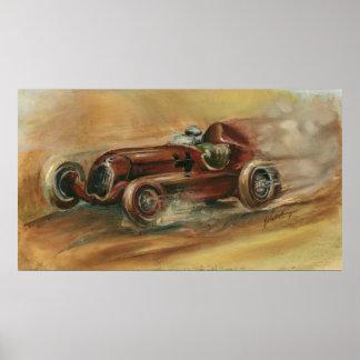 Le Mans Racecar by Ethan Harper Poster