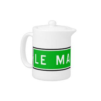 Le Mans, señal de tráfico, Francia