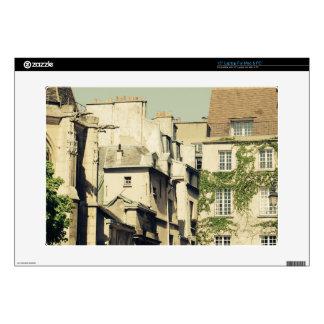 Le Marais en París, Francia, arquitectura idílica 38,1cm Portátil Calcomanías