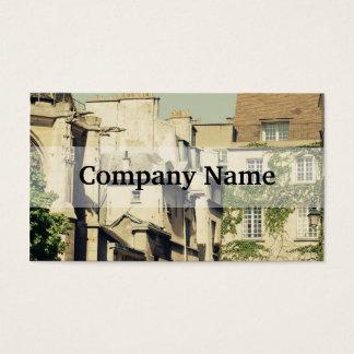Le Marais in Paris, France, Idyllic Architecture Business Card