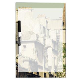 Le Marais in Paris, France, Idyllic Architecture Dry-Erase Board
