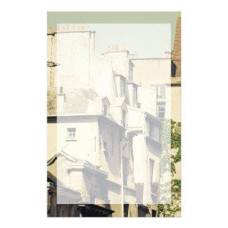 Le Marais in Paris, France, Idyllic Architecture Stationery
