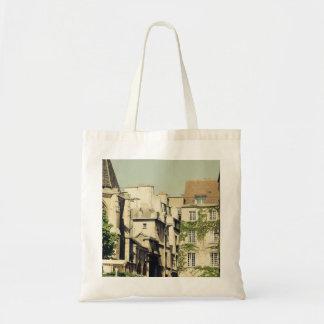 Le Marais in Paris, France, Idyllic Architecture Tote Bag