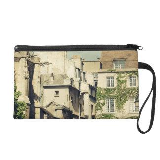 Le Marais in Paris, France, Idyllic Architecture Wristlet