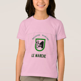 Le Marche flag with name T-Shirt