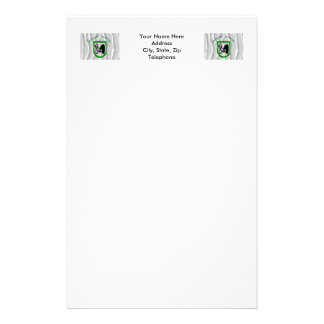 Le Marche waving flag Stationery