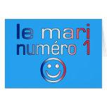 Le Mari Numéro 1 - marido del número 1 en francés Felicitaciones