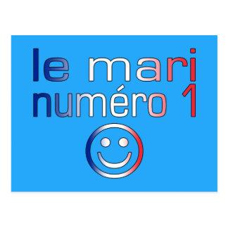 Le Mari Numéro 1 - marido del número 1 en francés Postal