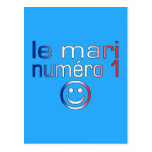 Le Mari Numéro 1 - marido del número 1 en francés Postales