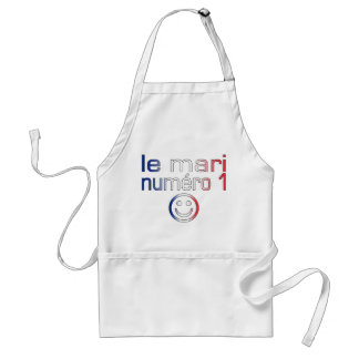 Le Mari Numéro 1 - Number 1 Husband in French Adult Apron